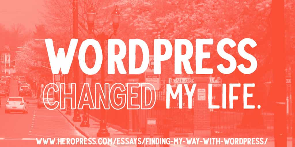 Finding My Way With WordPress